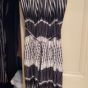 Wonen cute black/white dress sz xl  Olivia matthew